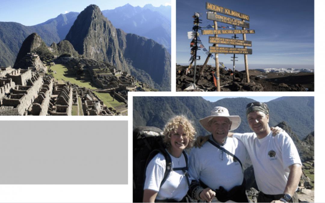 Jose Montero and Trekking for Kids