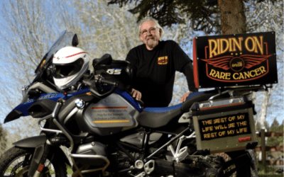 Pat Shannon: Ridin' On With Rare Cancer